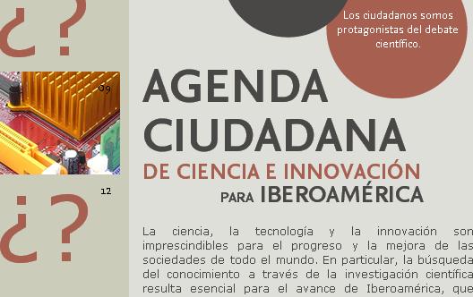 Agenda Ciudadana de Ciencia e Innovación