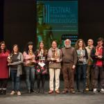 Ganadores del Festival de Cine Arqueológico. Foto: Coria.